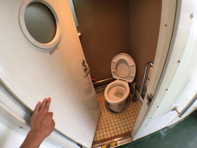 ニューへぐら号 トイレ