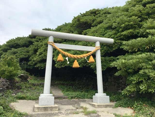 舳倉島 伊勢神社