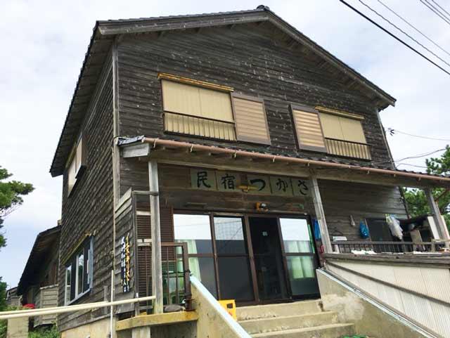 舳倉島 民宿