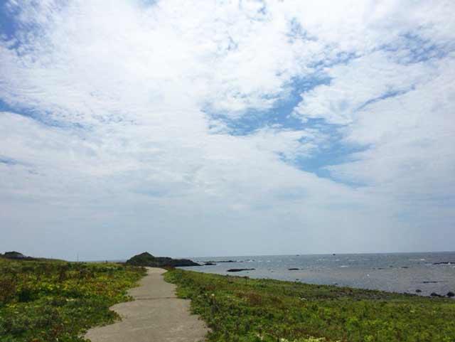 舳倉島 道