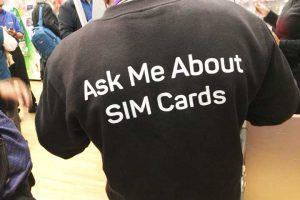 LONDON SIM cards