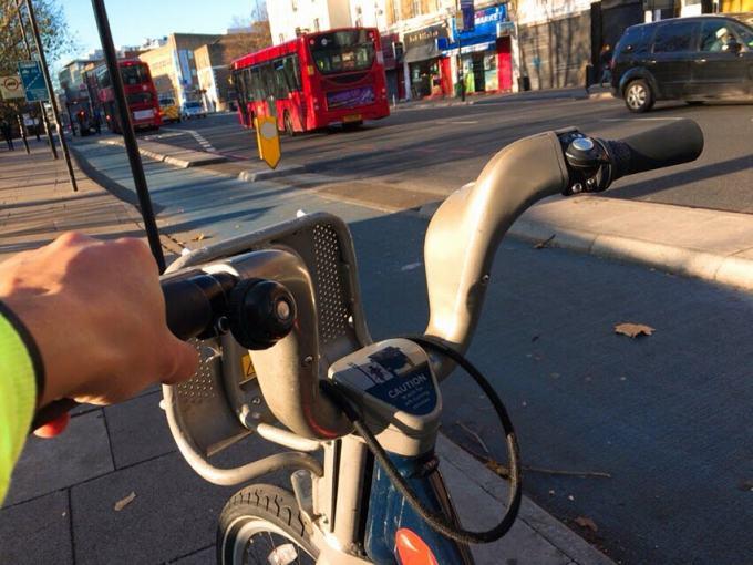 ロンドン レンタル自転車