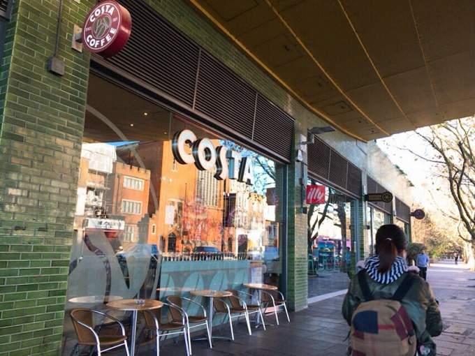 英国カフェ COSTA