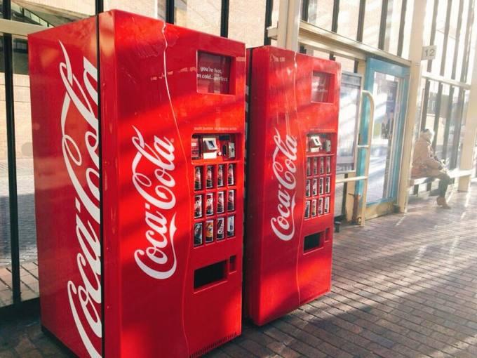 イギリス 自動販売機