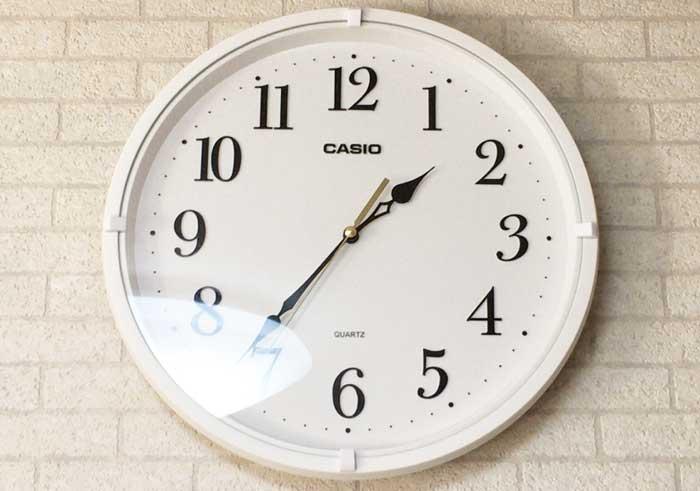 カシオ インテリア掛時計