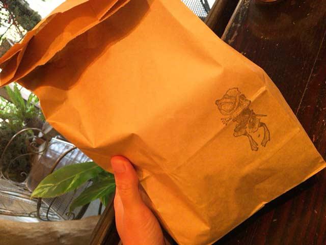 BAKERY ENGLAND STREET 紙袋