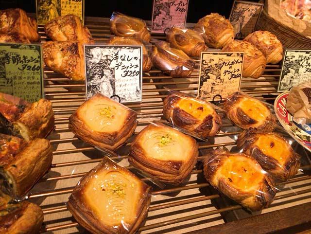 BAKERY ENGLAND STREET 甘いパン