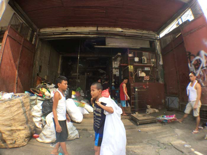 フィリピン 働く子供