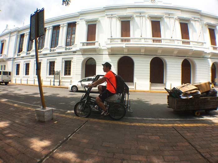 フィリピン 自転車タクシー