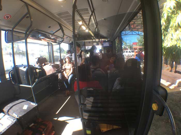 セブ島 空港バス