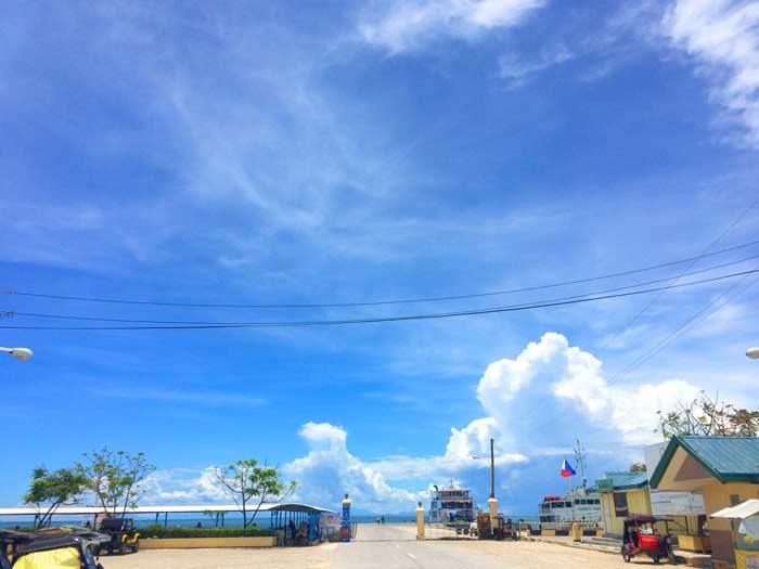 フィリピン 青空と雲