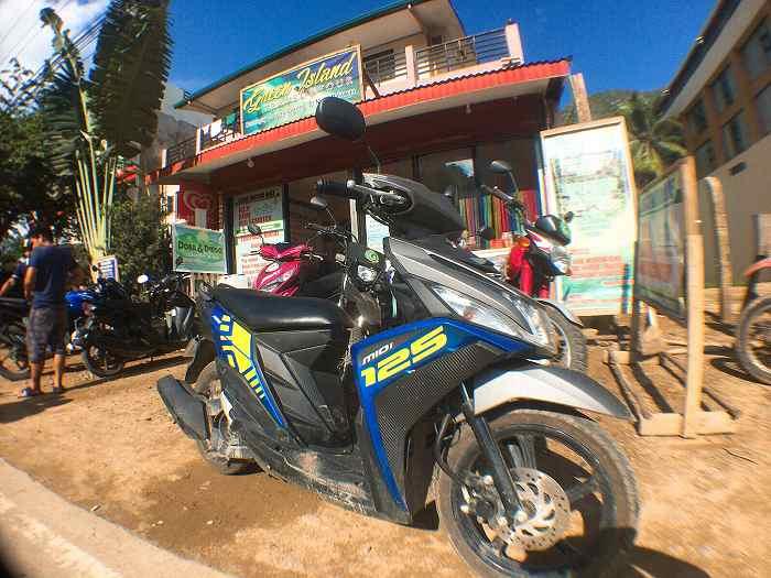 エルニド レンタルバイク