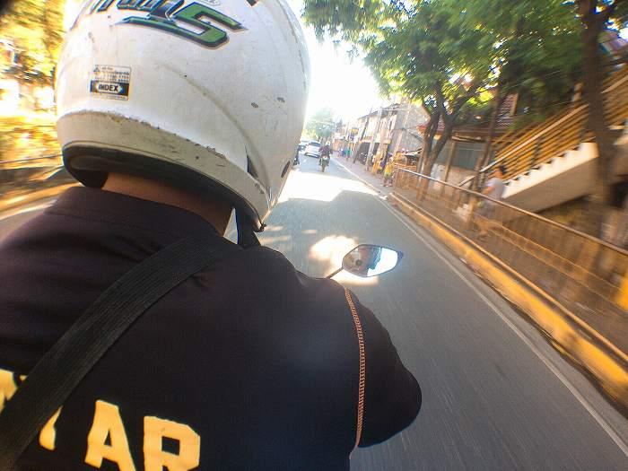 フィリピン バイクタクシー