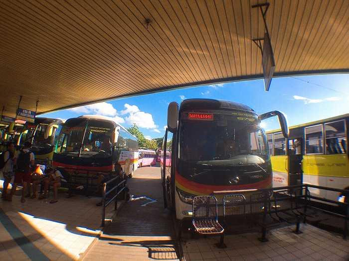 フィリピン 長距離バス