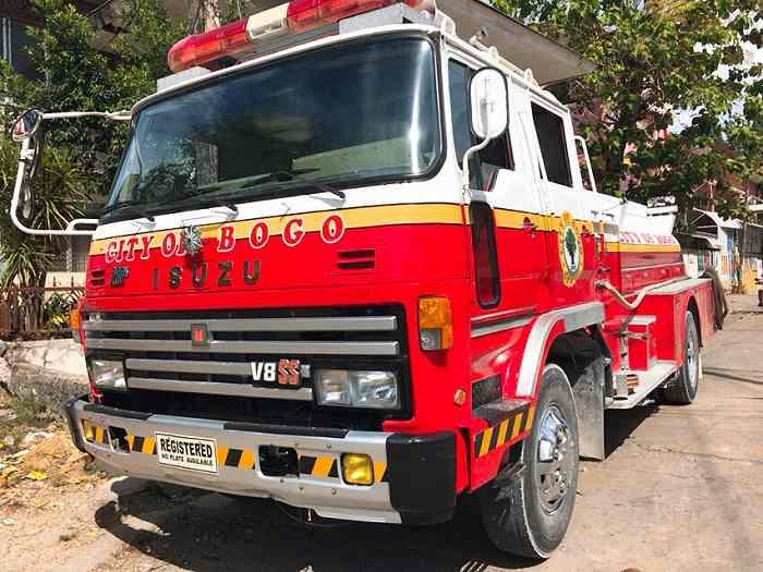 セブ島 消防車