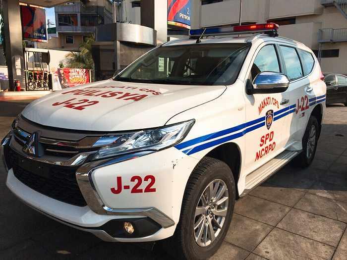 フィリピン パトカー