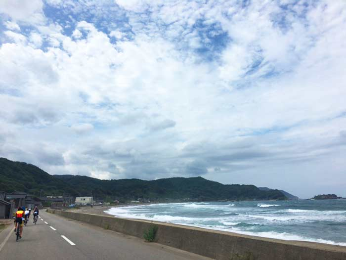 トライアスロン珠洲 海