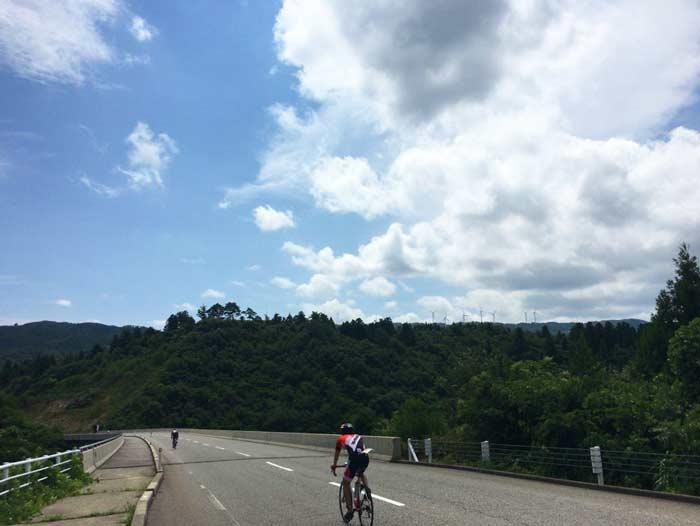 自転車 大谷峠