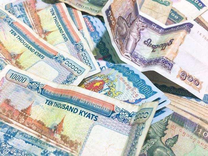 ミャンマーチャット現金