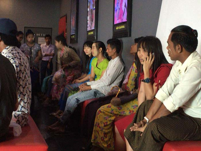 ミャンマー 映画館