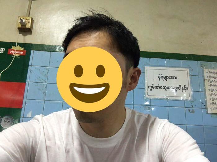 ミャンマー 散髪