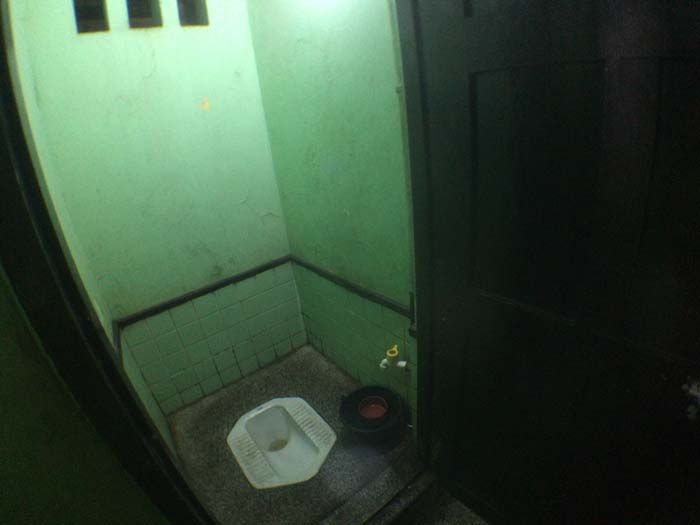 ミャンマー トイレ
