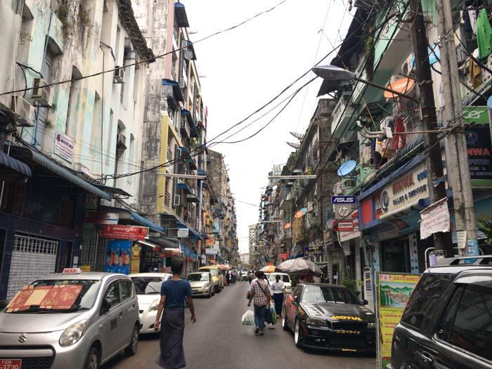 ヤンゴン 風景