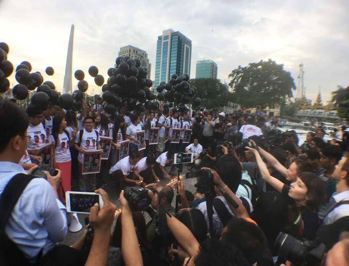 ミャンマー ジャーナリスト解放運動