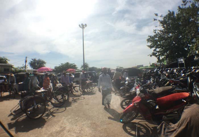 ヤンゴン ダラ地区
