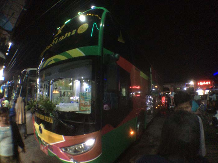 バガン バス