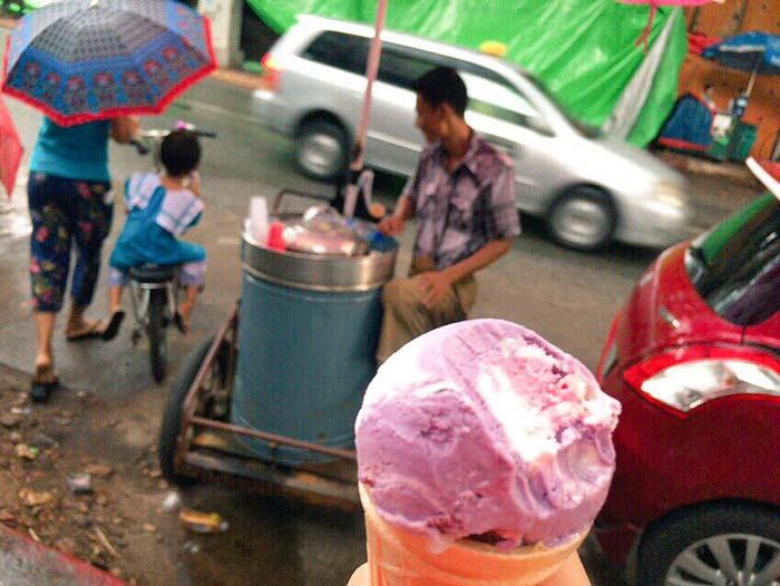 ミャンマー アイス