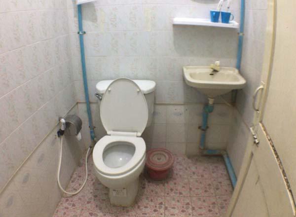 ミャンマートイレ