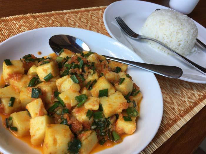 ミャンマー 豆腐