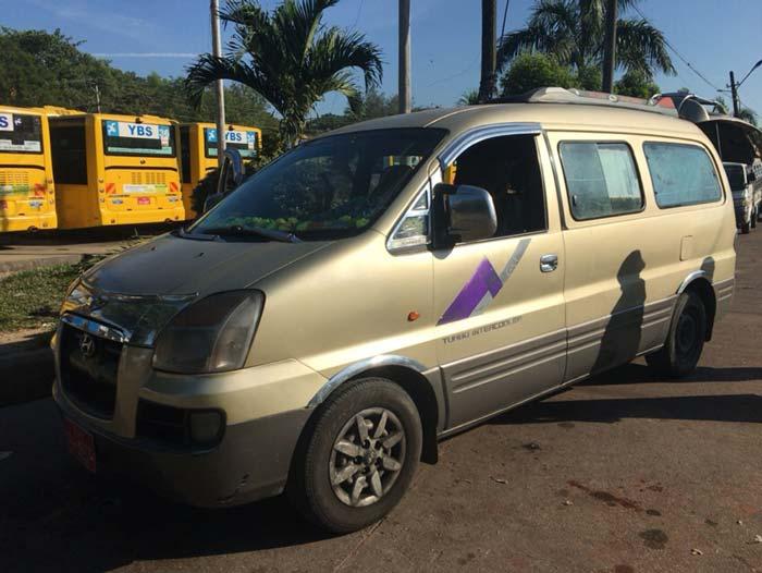 ヤンゴン 乗り合いバス