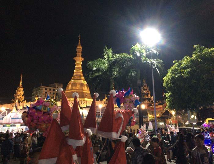 ミャンマー クリスマス