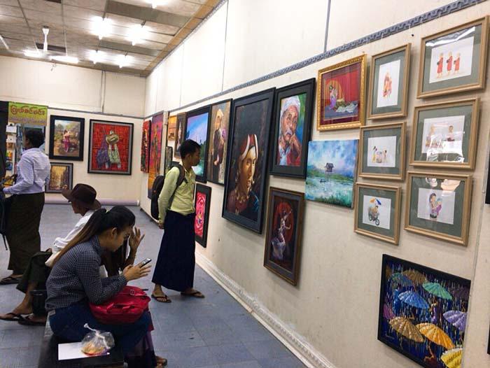 Bogyoke Aung San Market ギャラリー
