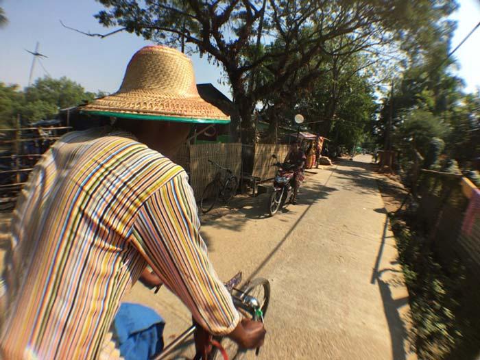 ダラ地区 自転車タクシー