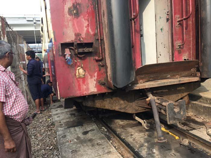 Myanmar 鉄道