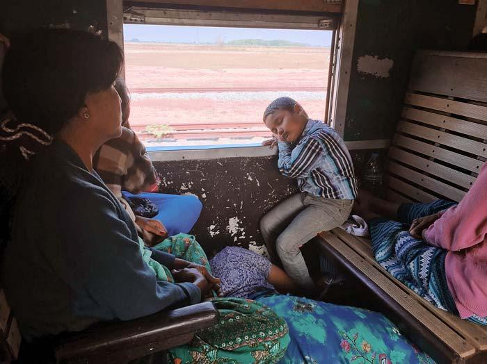 Myanmar電車