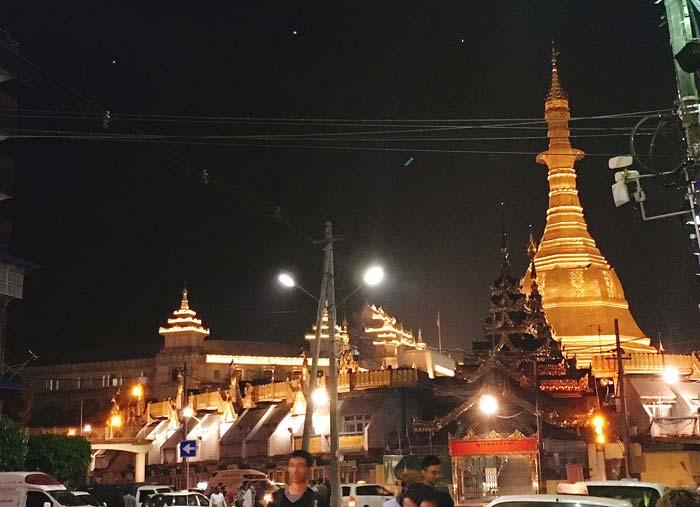 ヤンゴン 病気
