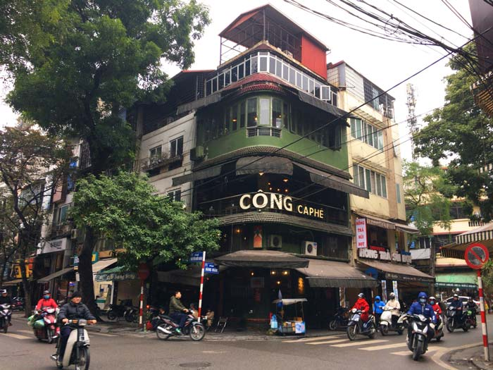 CONG CAPHE Hanoi