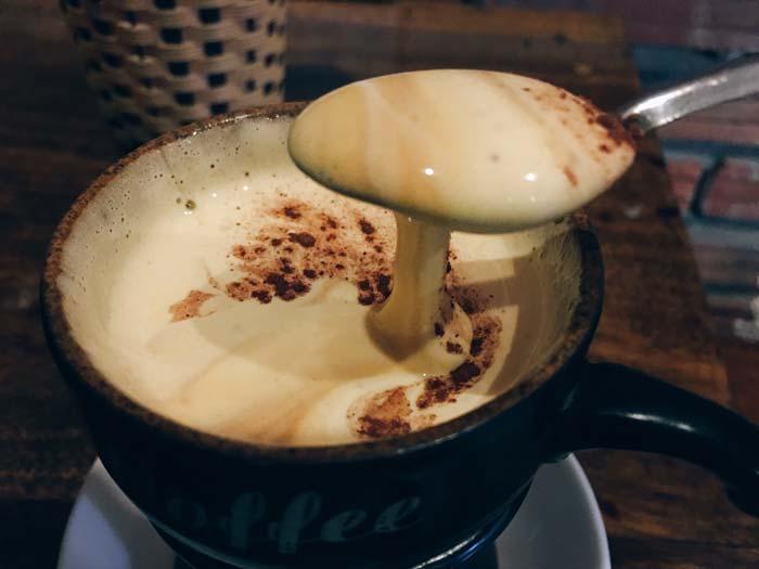 Cafe Nang Egg coffeee