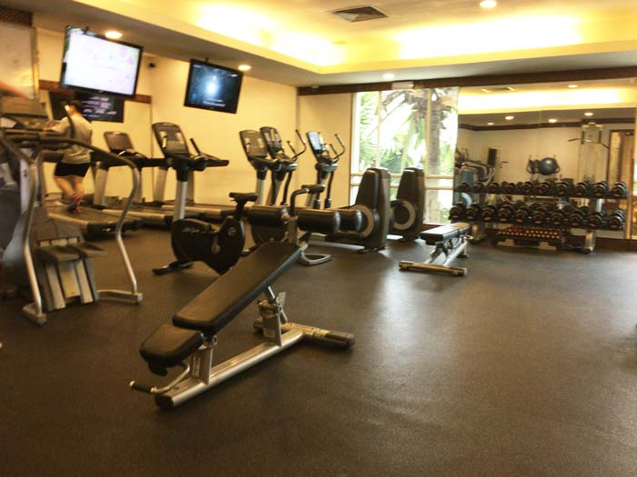 PARKROYAL Yangon gym