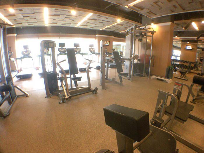 Sule Shangri-La Hotel gym
