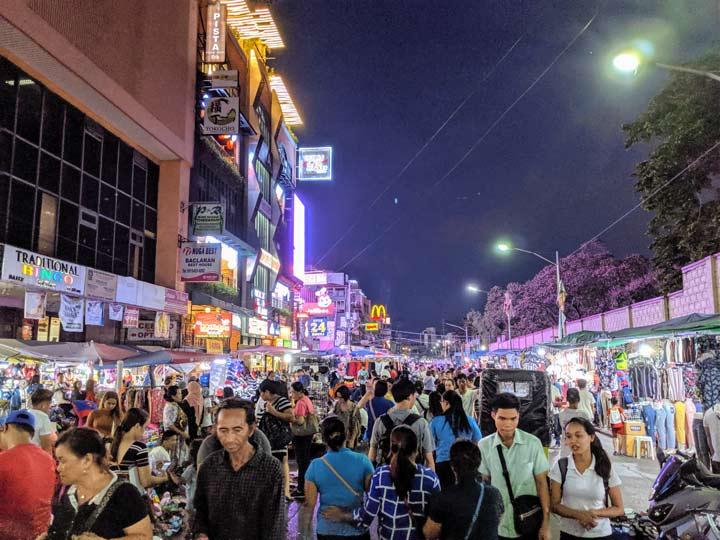 マニラ 市場