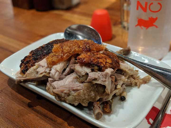 フィリピン 豚料理