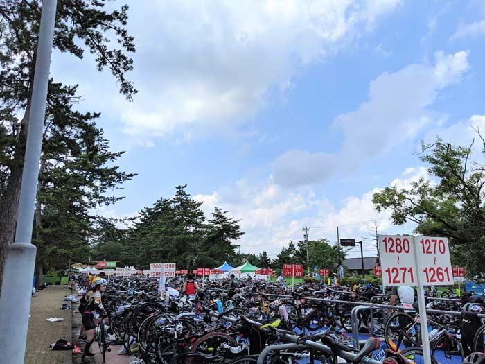 トライアスロン珠洲 バイク