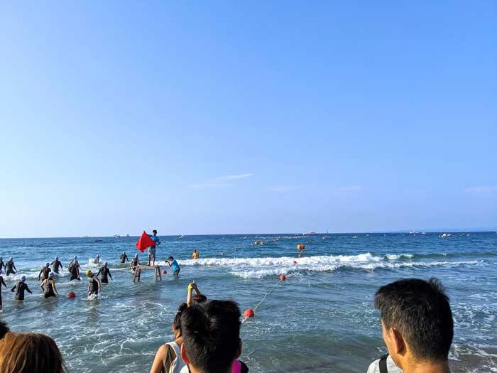トライアスロン珠洲2019 海