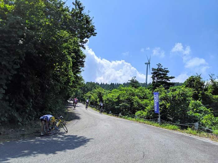 トライアスロン珠洲 大谷峠