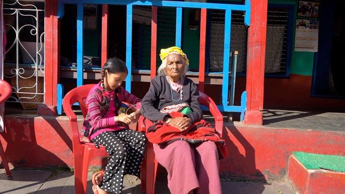 ビピシャと曾祖母
